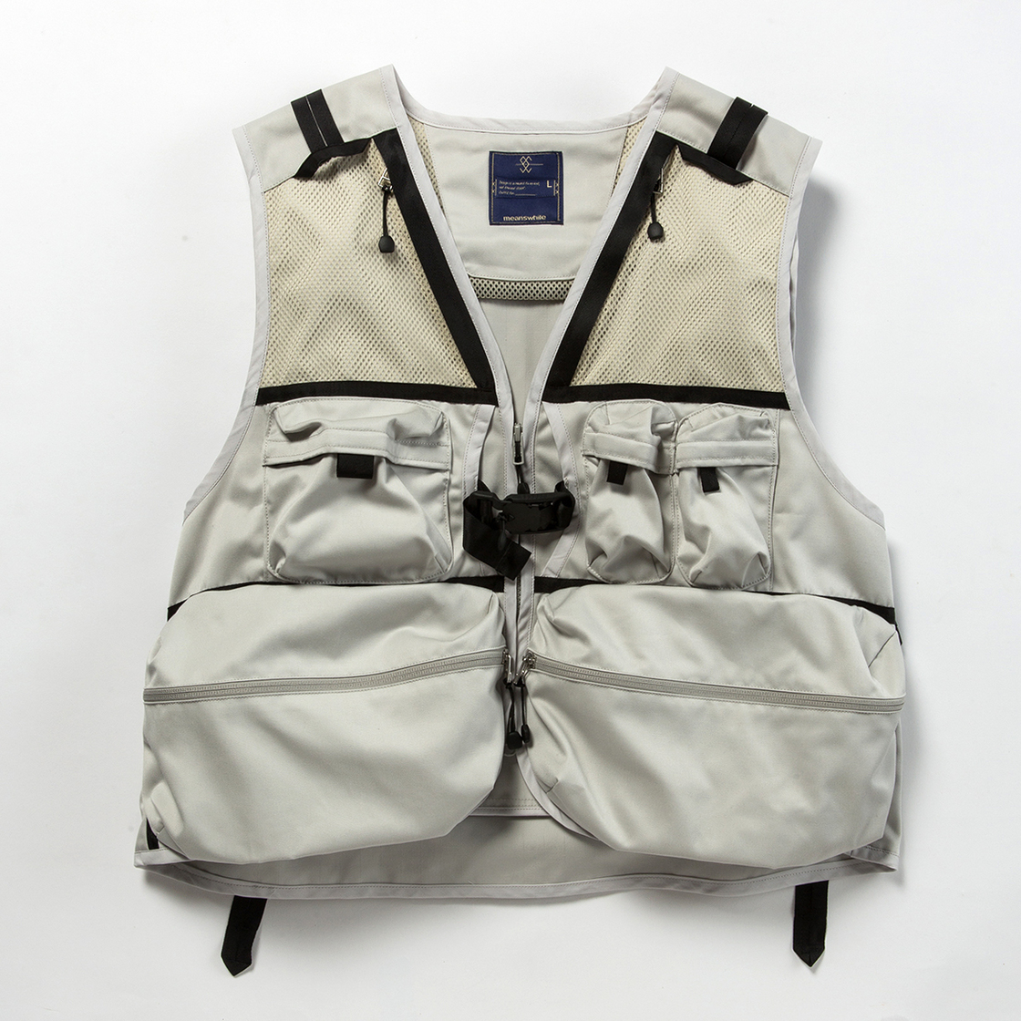Work Twill Luggage Vest
