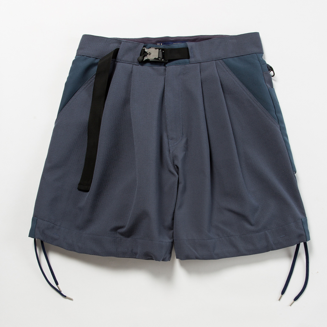 """Sashiko"" Sack Shorts"