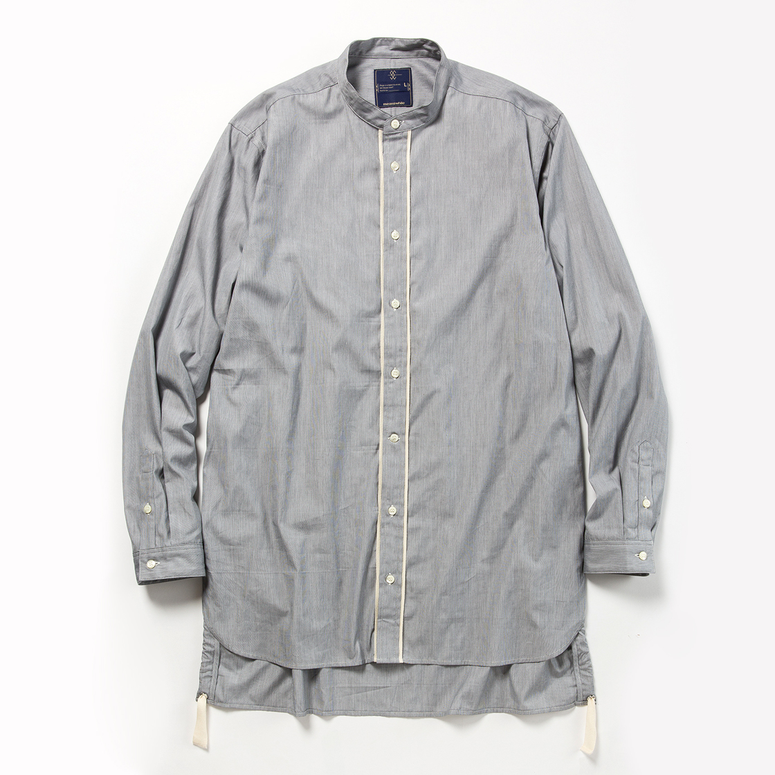 Pinstripe Long Shirt