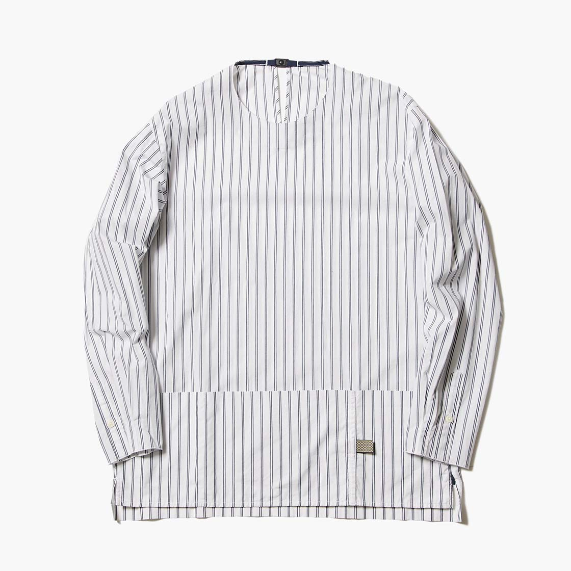 Argane Oil Cotton Stripe Pullover SH