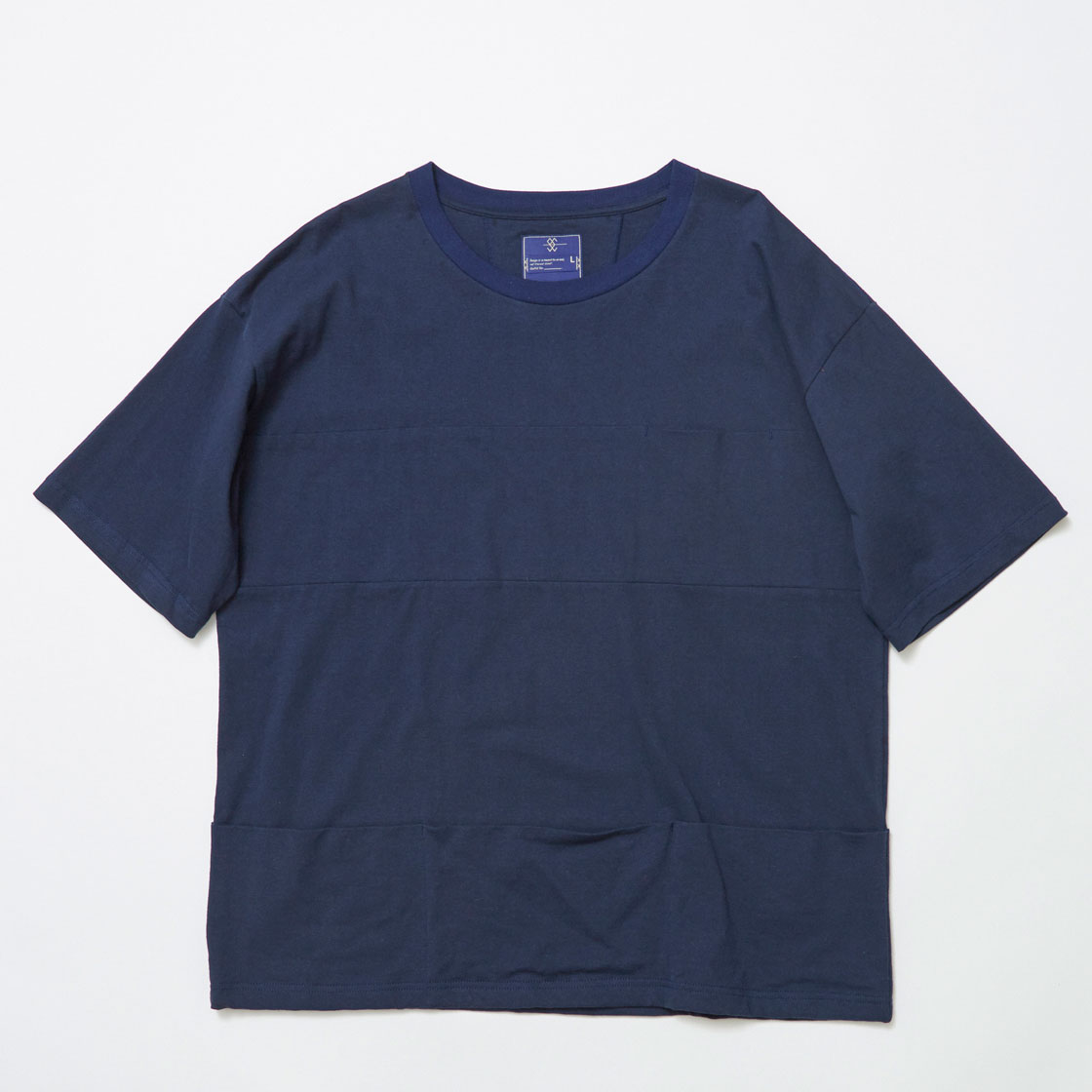 Single Jersey Packable Pocket Tee