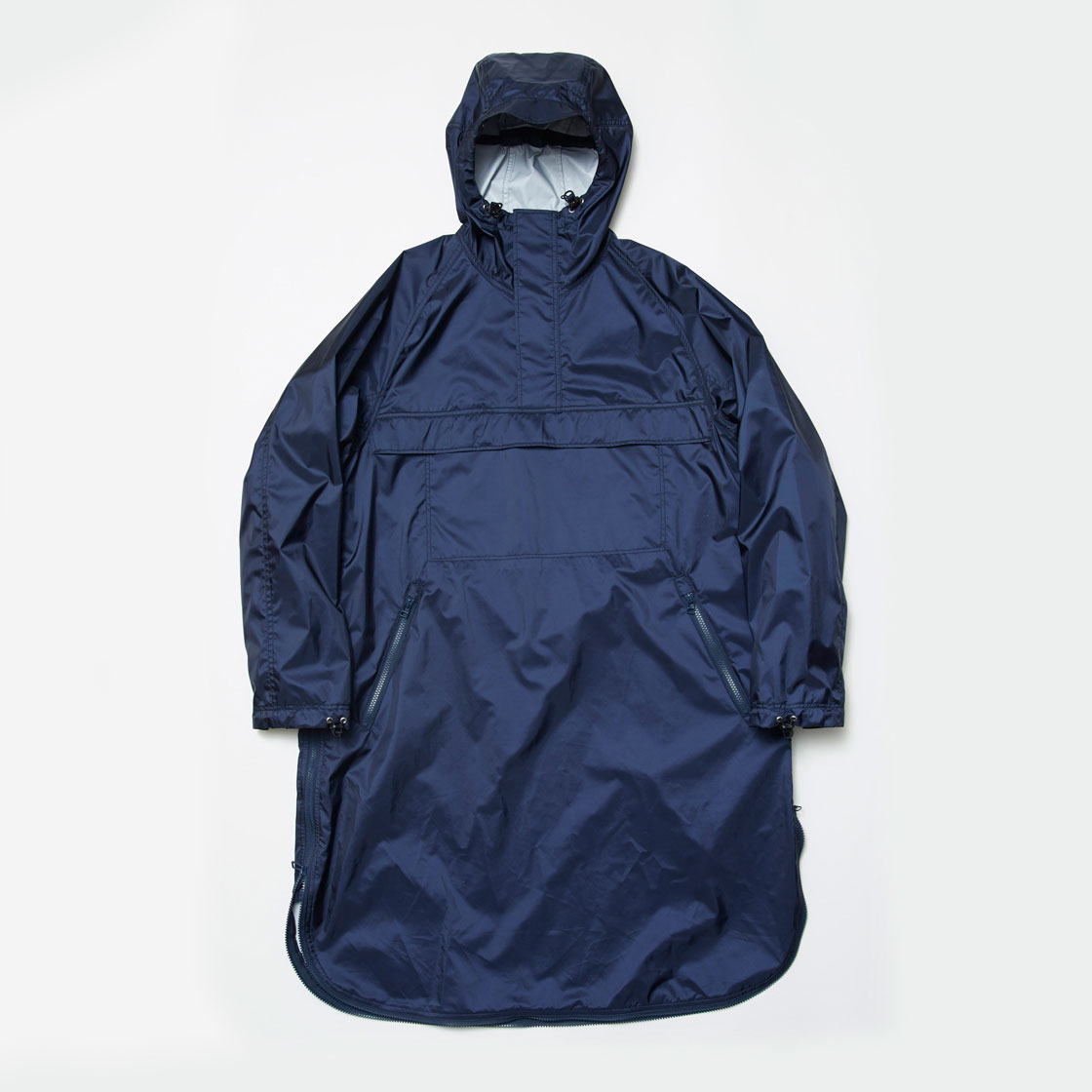 3 Layer Loop Zip Over Coat