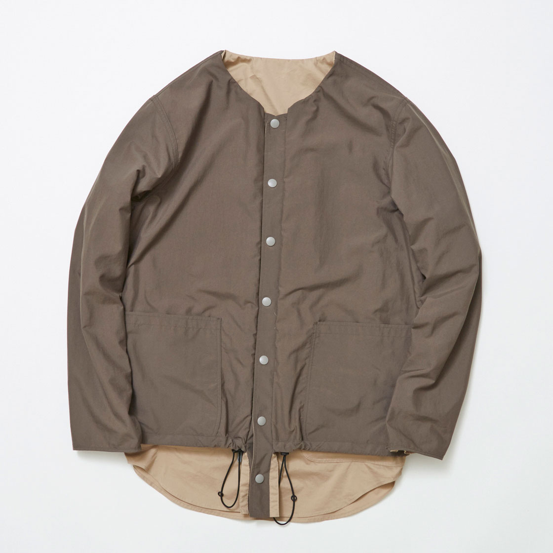 Water-repellent/Coolmax Reversible 4Way Shirts JKT