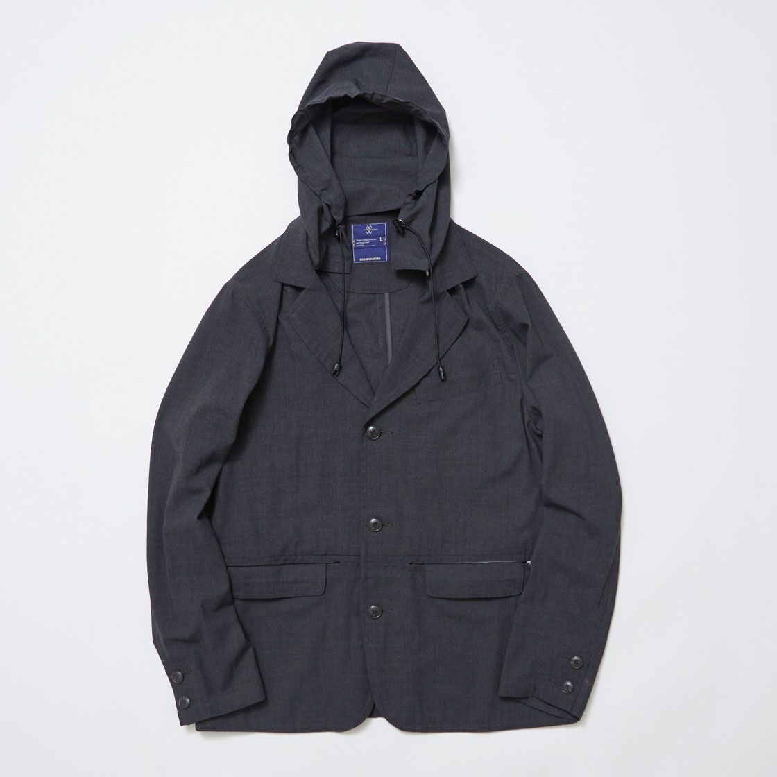 Water-repellent Cordura Wool Travel JK