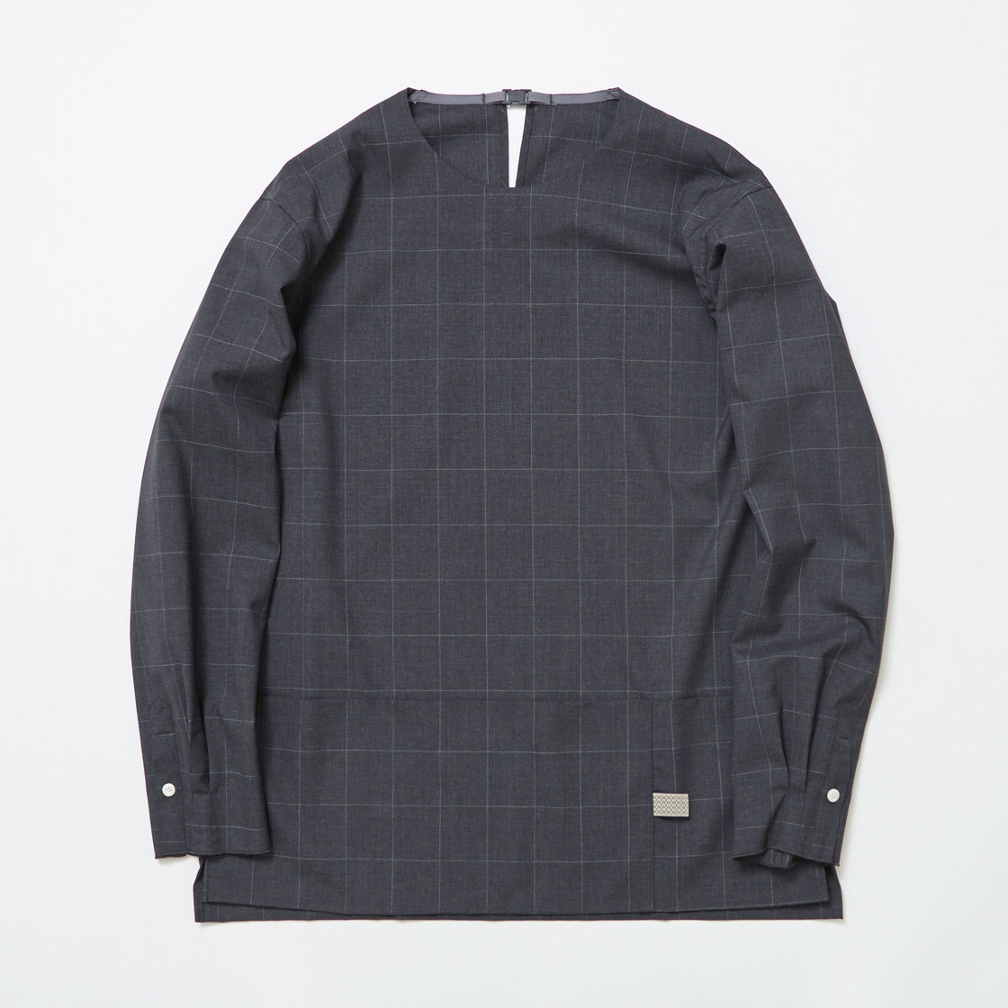 Cordura Wool Stretch Window-Pen Pullover SH
