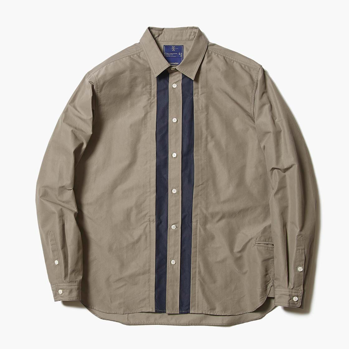 Micro Herringbone Front Pocket SH