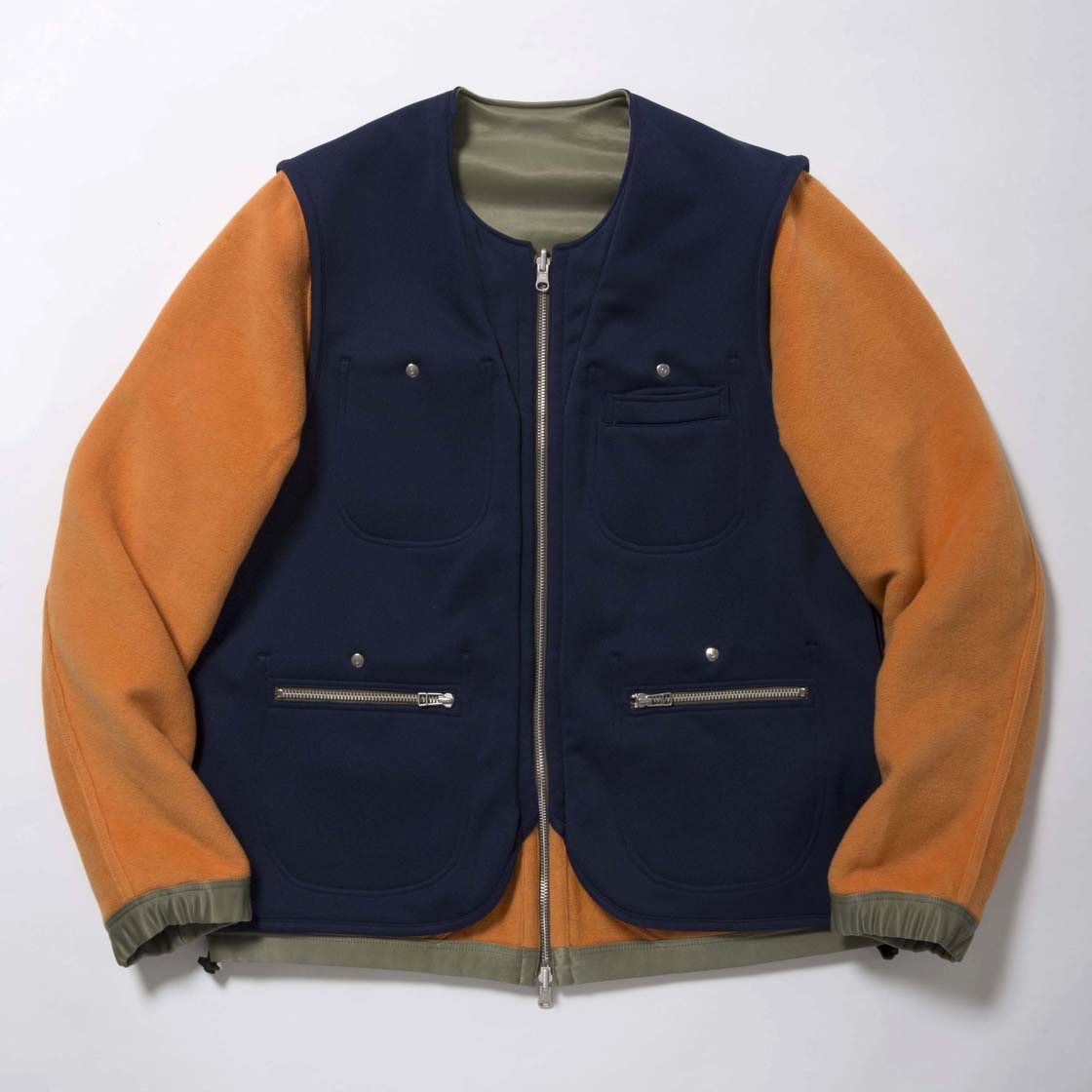 Double Fleece Reversible 4Way JKT