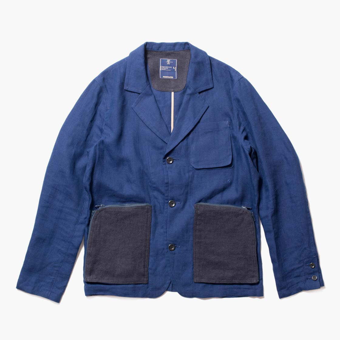 "Linen Construction Pocket ""Uncon"" JK"