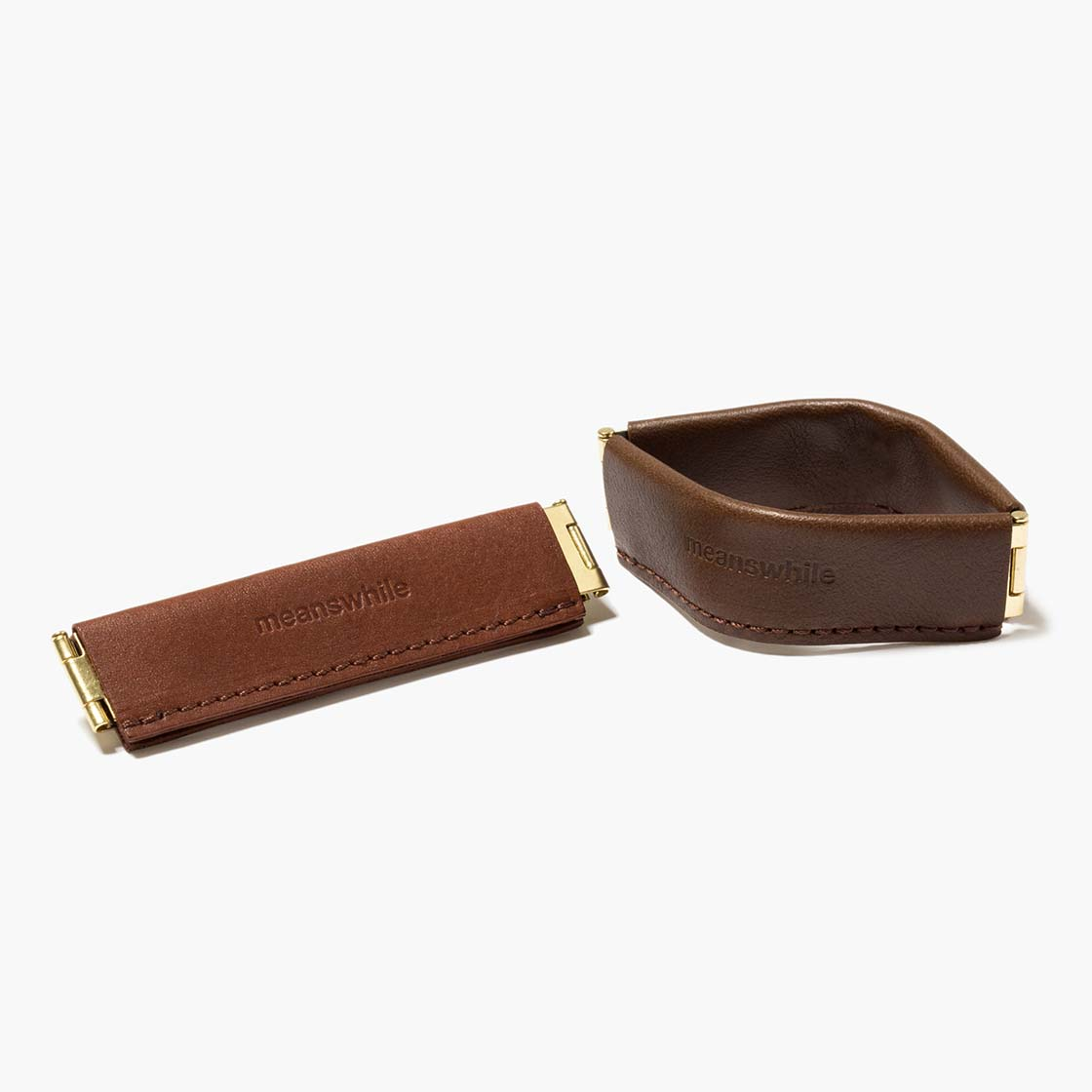 Multipurpose Flat Spring Leather Clip
