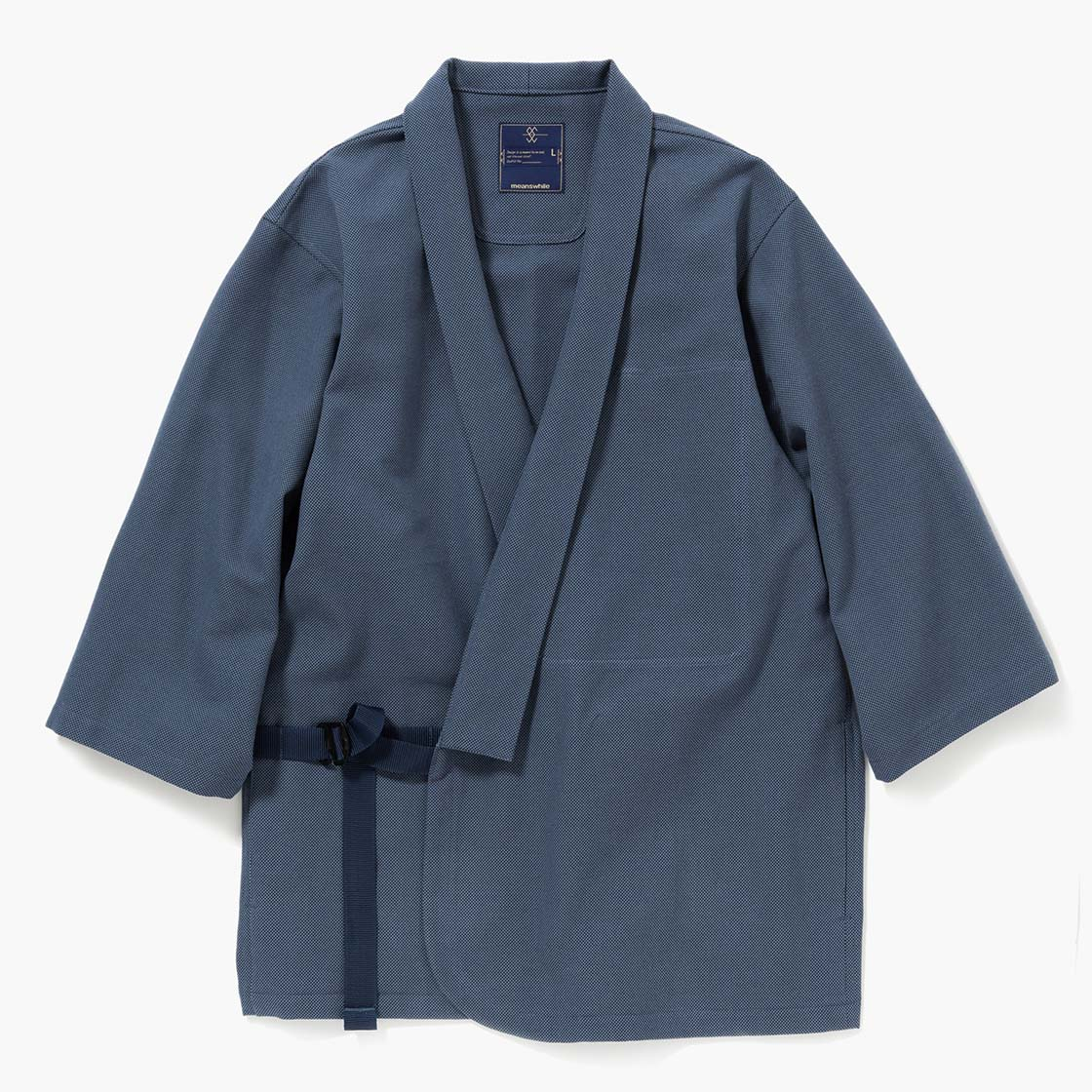 "Cotton Birds Eye Monk's Working Clothes ""SAMUE"""