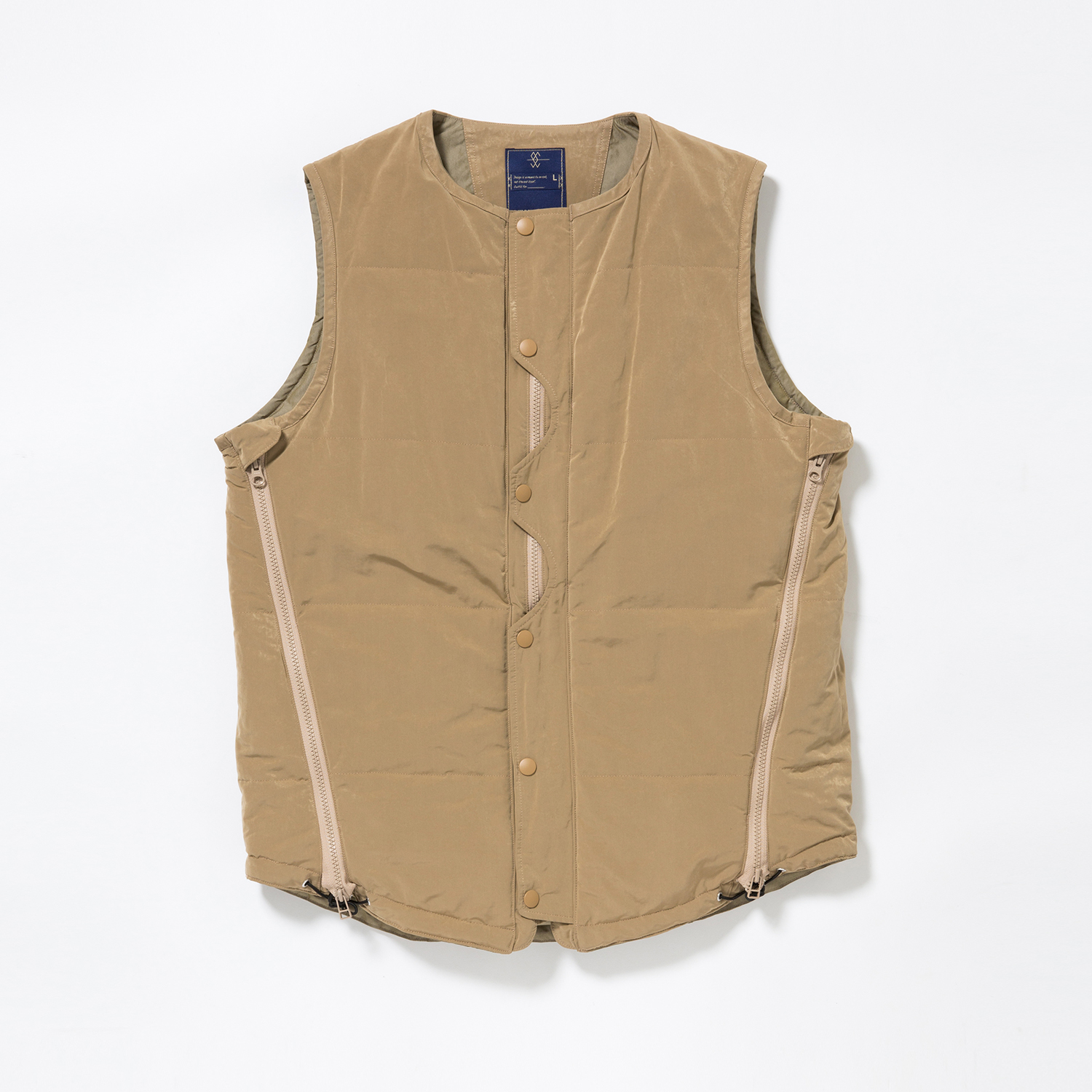Memory Peach/Outlast Loop Zip Vest