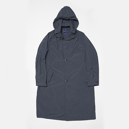 Water-repellent Tussah Travel Long Coat