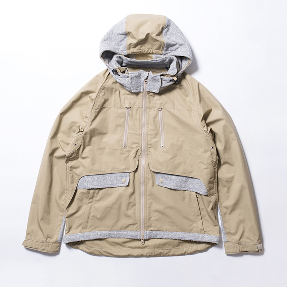 Cotton Typewriter Contrary Parka