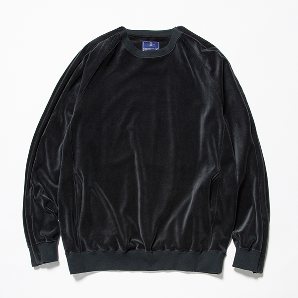 Velour Popper Sweat