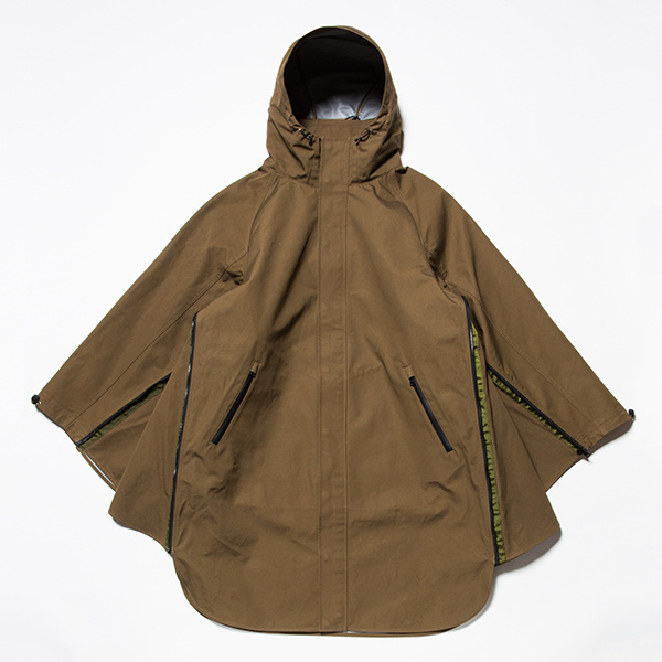 3 Layer Ventile Poncho Coat