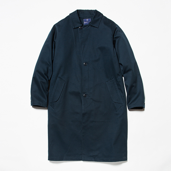 Cotton Chino Overcoat