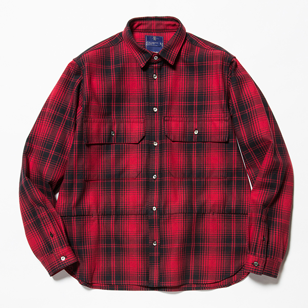 Flannel Check Shirt Jacket
