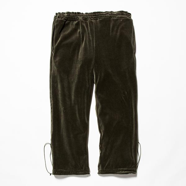 Velour Popper Pants