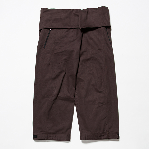 Cotton Chino Wrap Pant