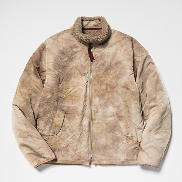 Dyed Camo Reversible Fleece/L3
