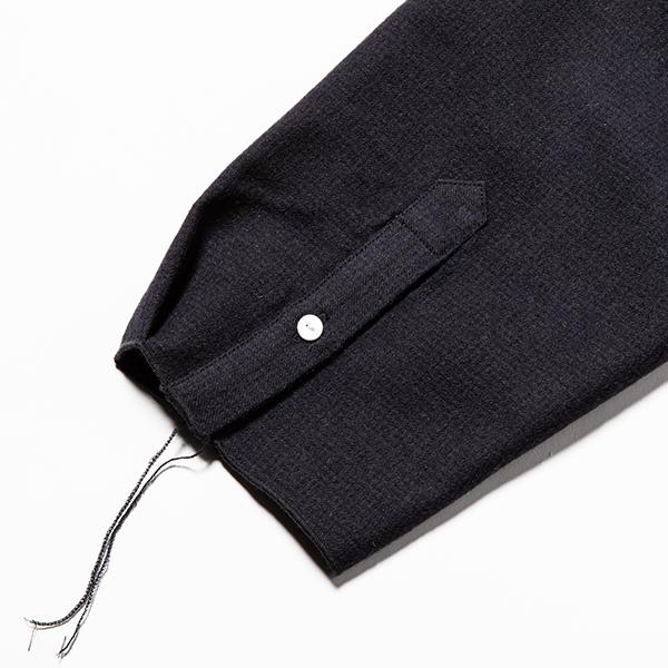 Tech Wool Packable SH / Navy