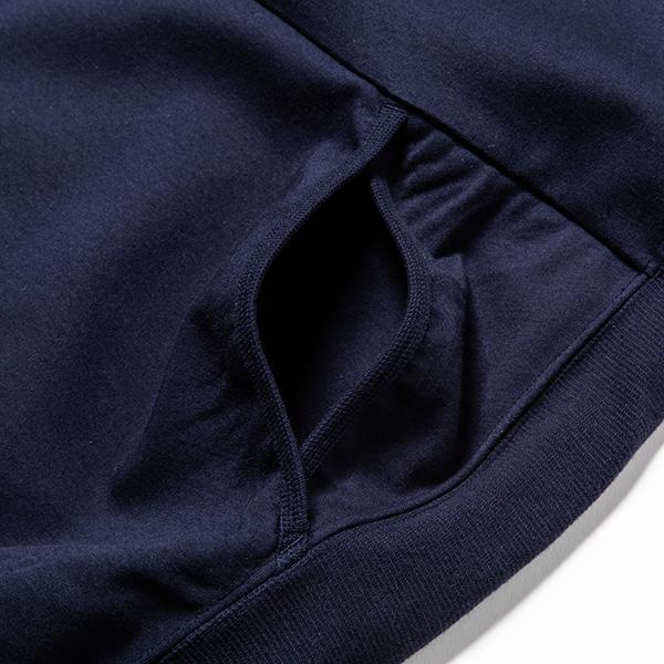 Water-Repellent Breathe Cloth Hoodie Navy