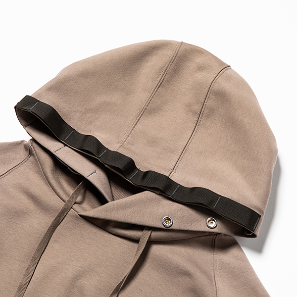 Water-Repellent Breathe Cloth Hoodie Olive