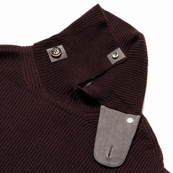 Open Collar Turtleneck