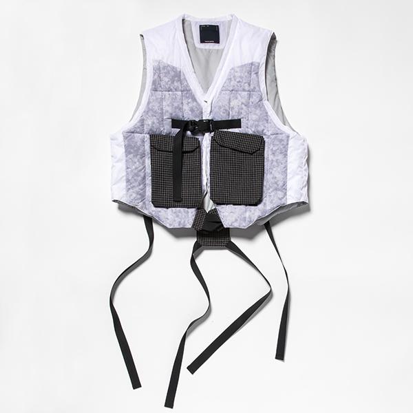 Analog Camo Down Vest/L6