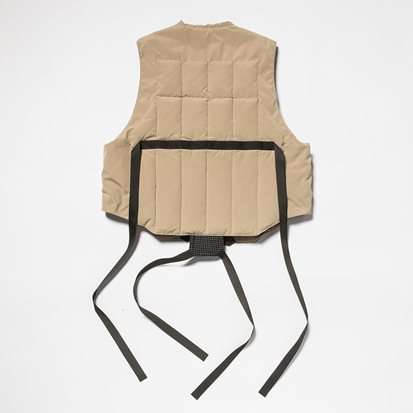 Peach Cloth Down Vest/L6