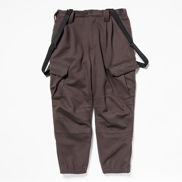 Down Cloth Uniform PT Charcoal