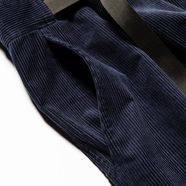 Corduroy Wrap PT Navy