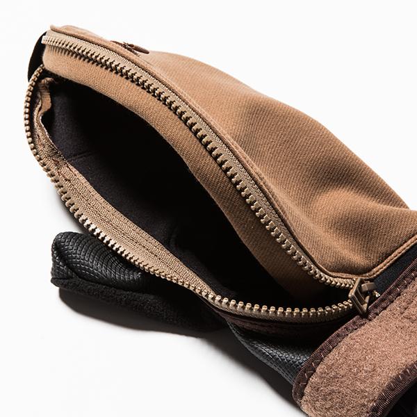 Down Cloth Mitten Glove