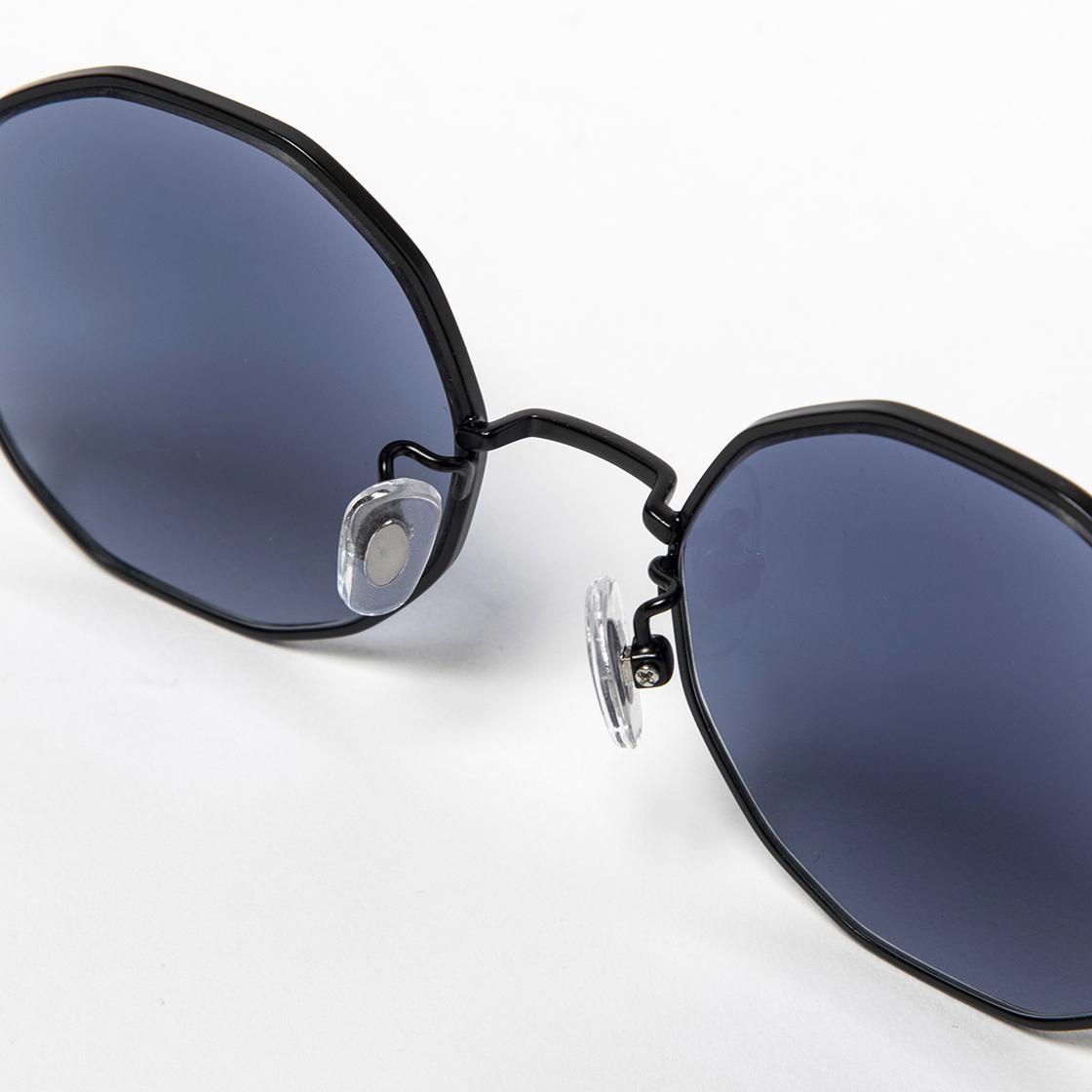 Transition Color Glass Gunmetal/Sapphire Blue