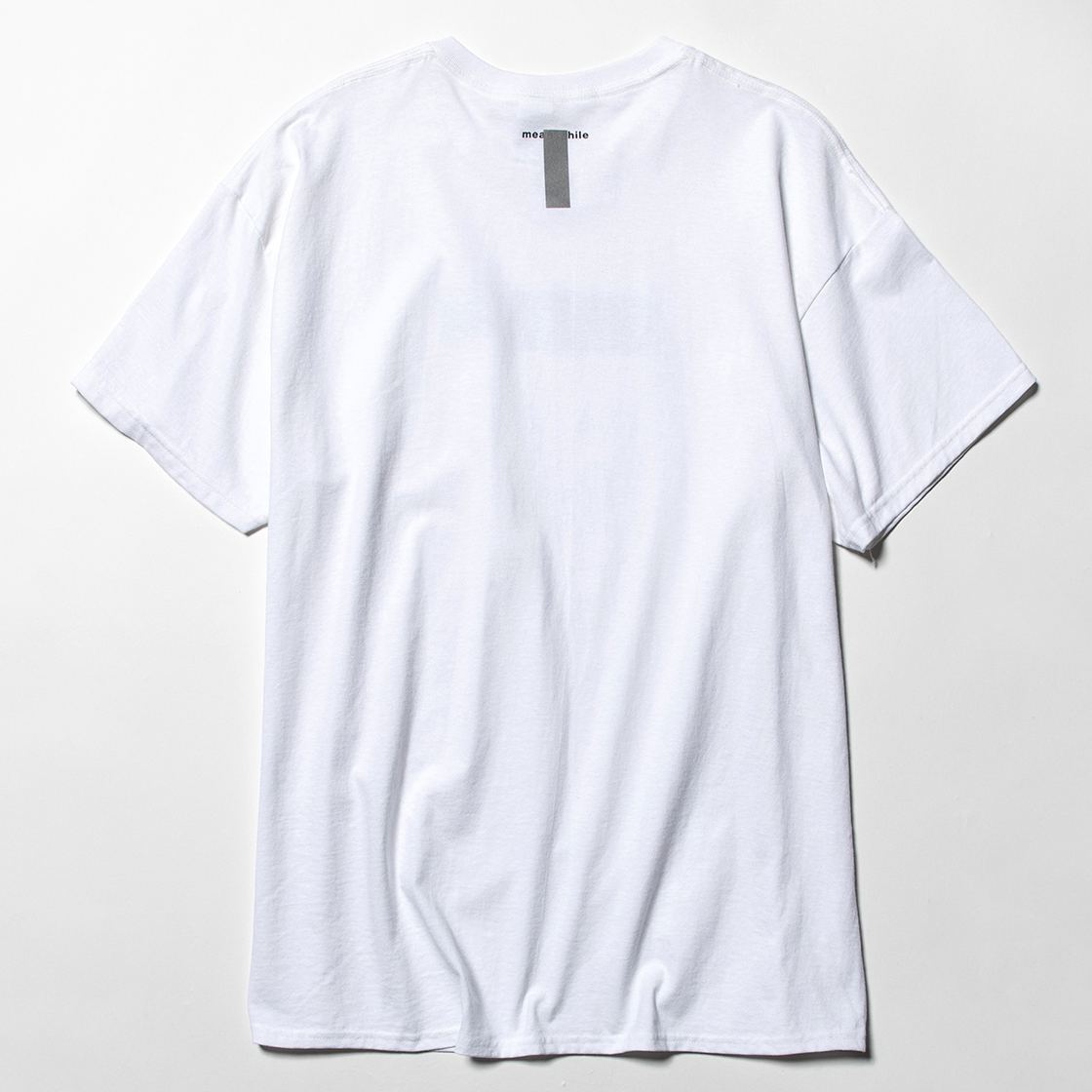 Lenticular Reflect Logo Tee White
