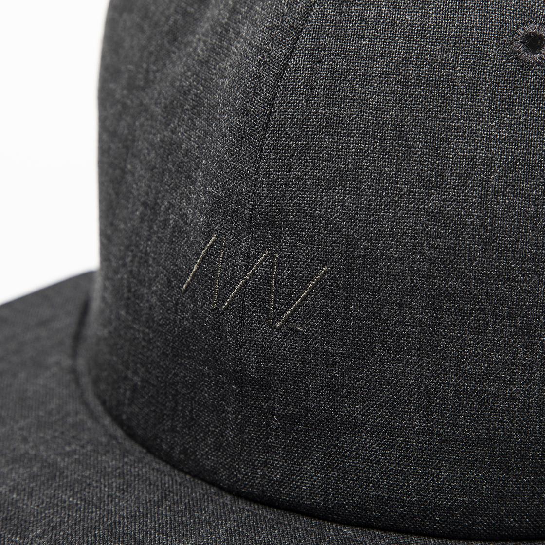 Wool B.B Cap Charcoal