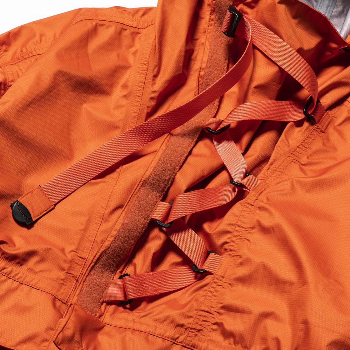3 Layer Anorak OP Orange
