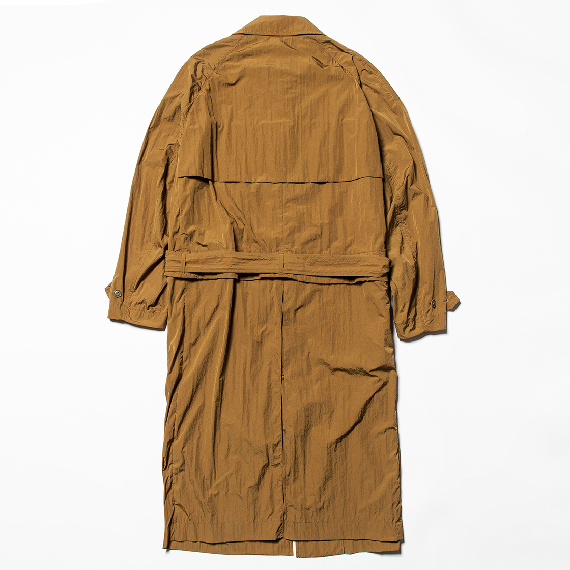 Nylon Split Over Coat Coyote