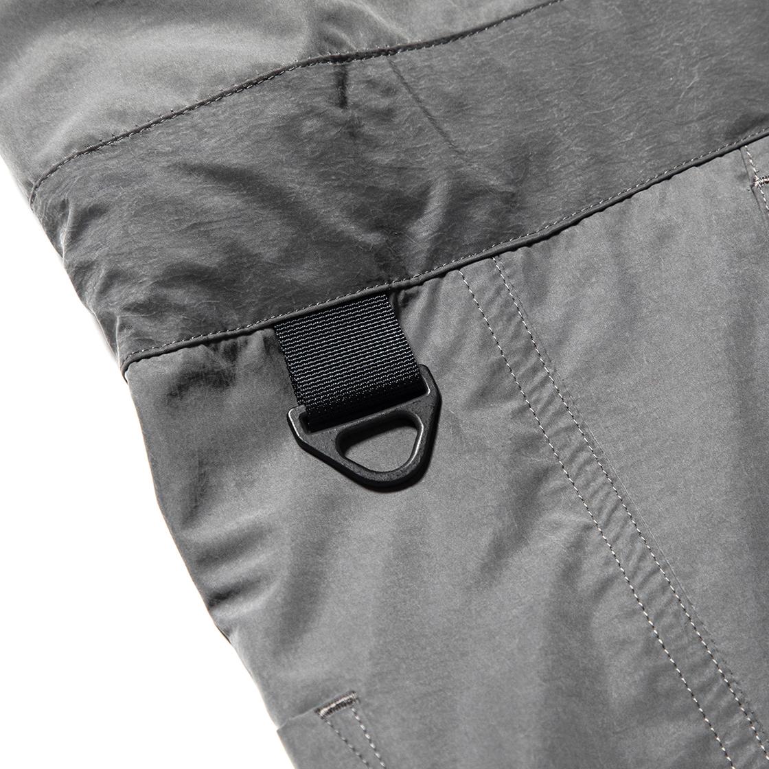 Nylon Wrap Board Shorts Charcoal