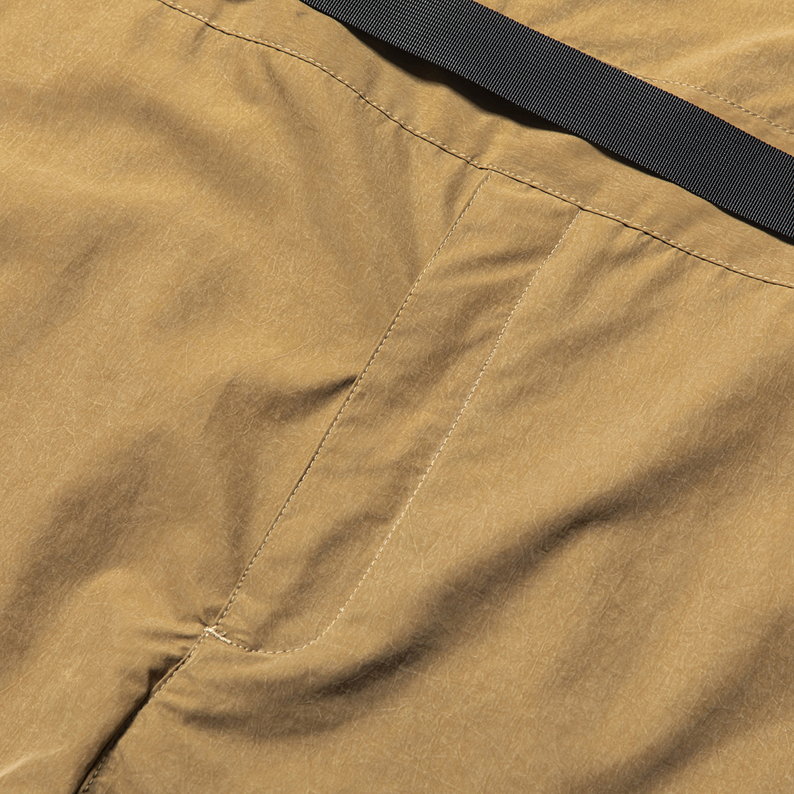 Nylon Wrap Board Shorts Coyote