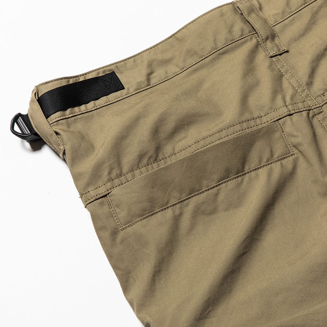 Luggage Cargo Shorts Beige