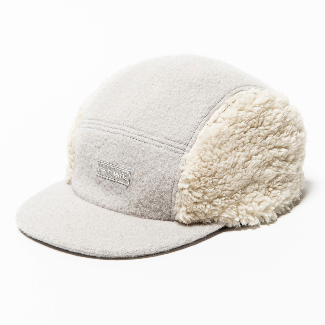 Retro Fleece Melton Jet Cap G.White