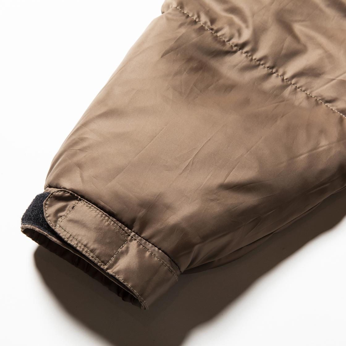 Detachable Down JKT Beige