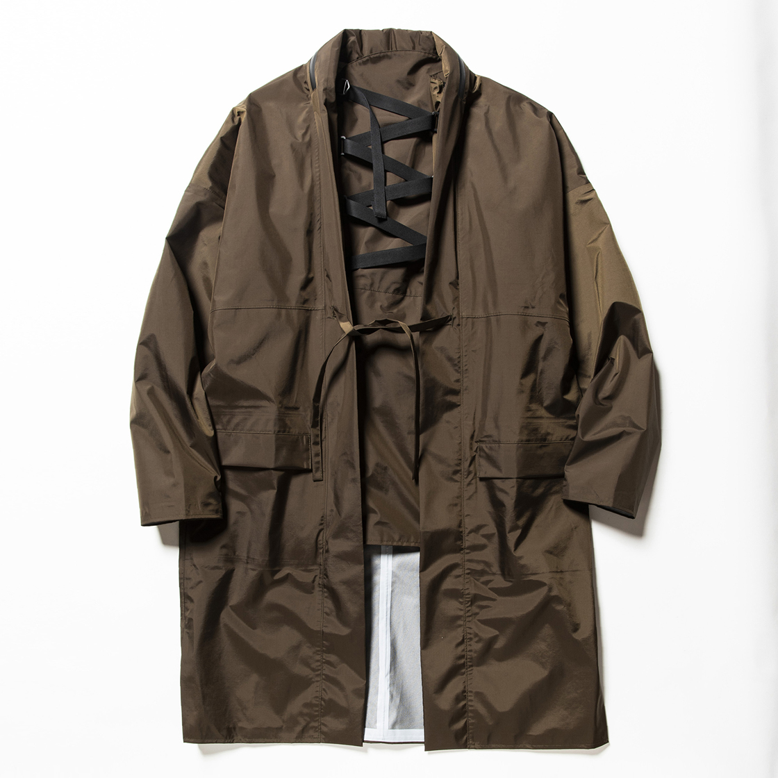 3 Layer Detachable Anorak Coat×FDMTL Khaki