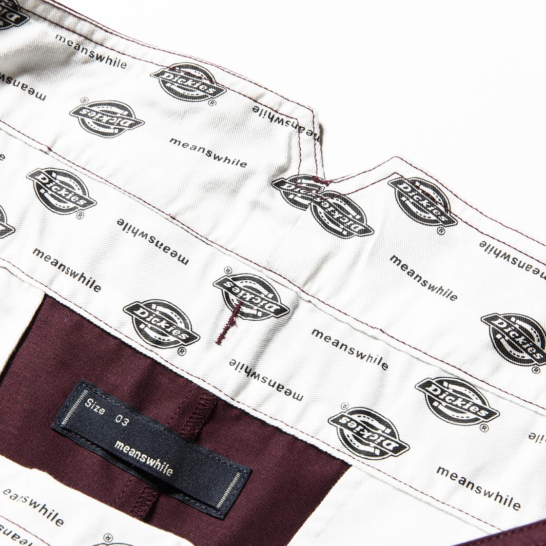 Wrap PT×Dickies® Maroon