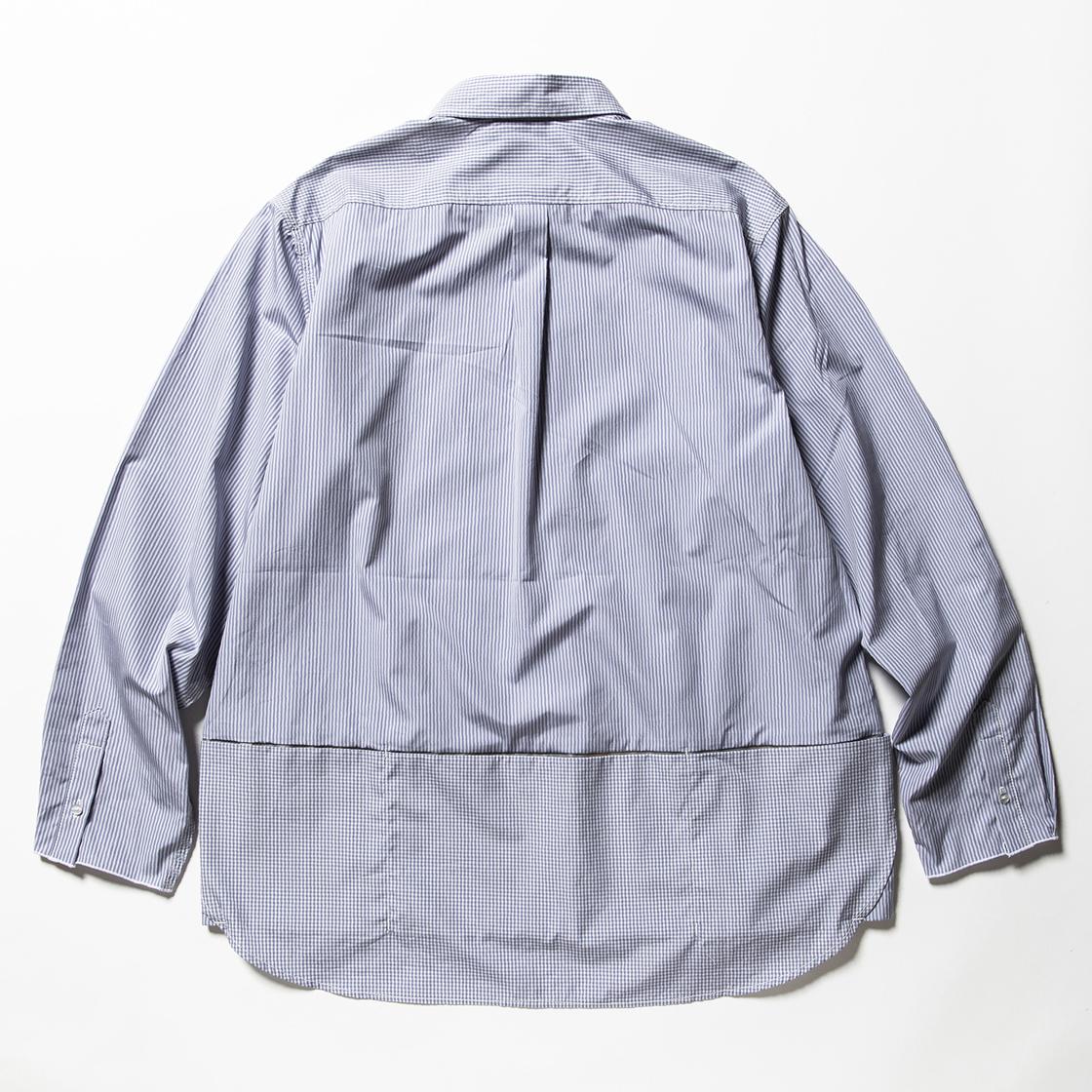 Imperial Poplin Packable SH Check/Stripe