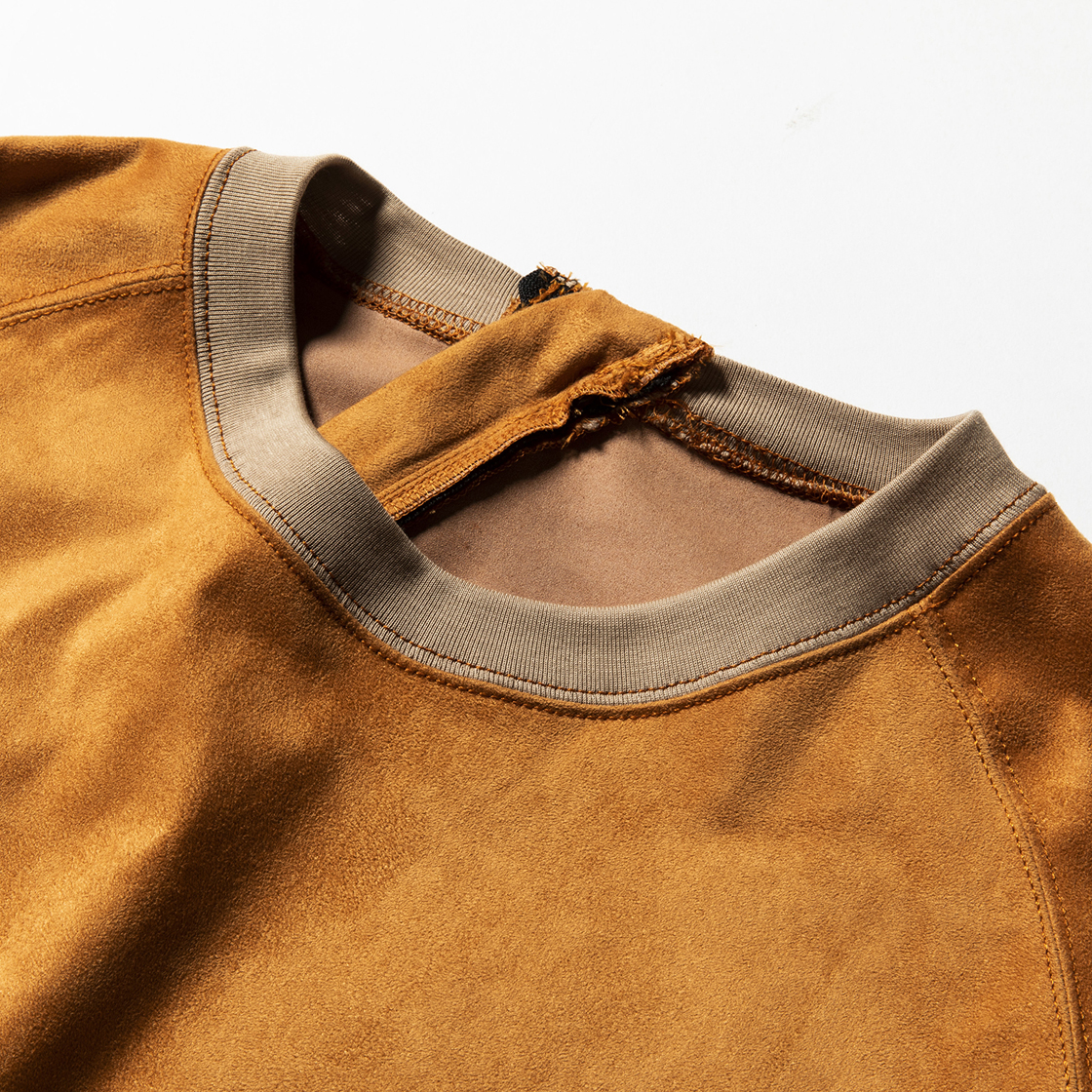 Suede Popper SH Light Brown