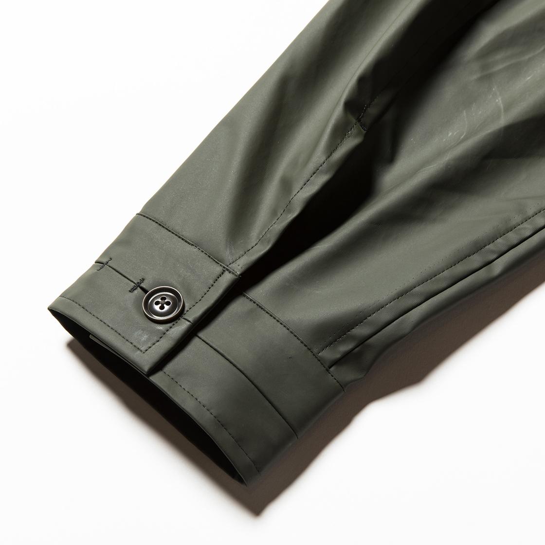 Rubber Cloth Incomplete JKT Coal
