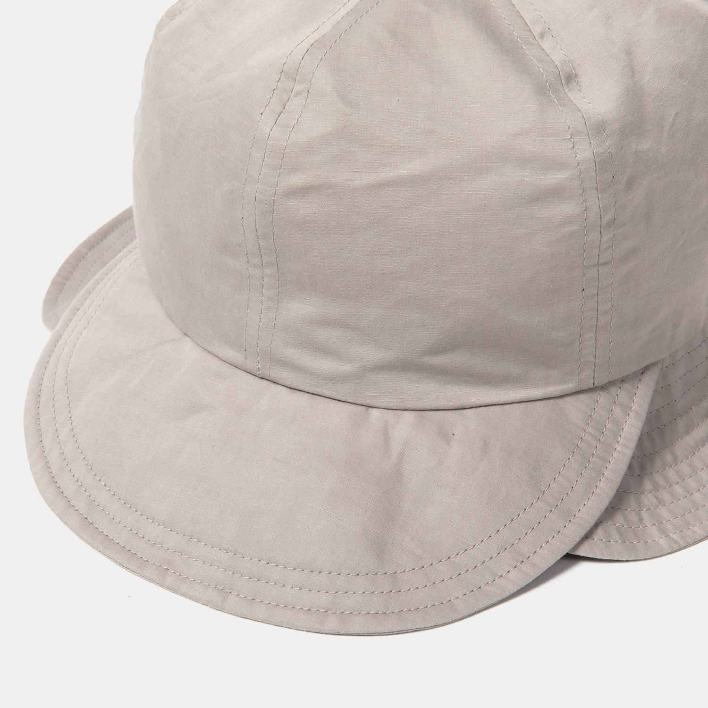 Split 6 Panel Hat / Grey
