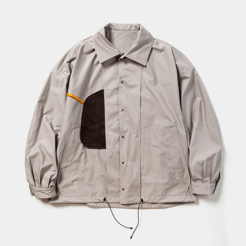 High Density Gabardine Coach JKT / Grey